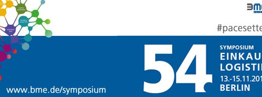 54. BME-Symposium – 13. bis 15. November 2019, Berlin